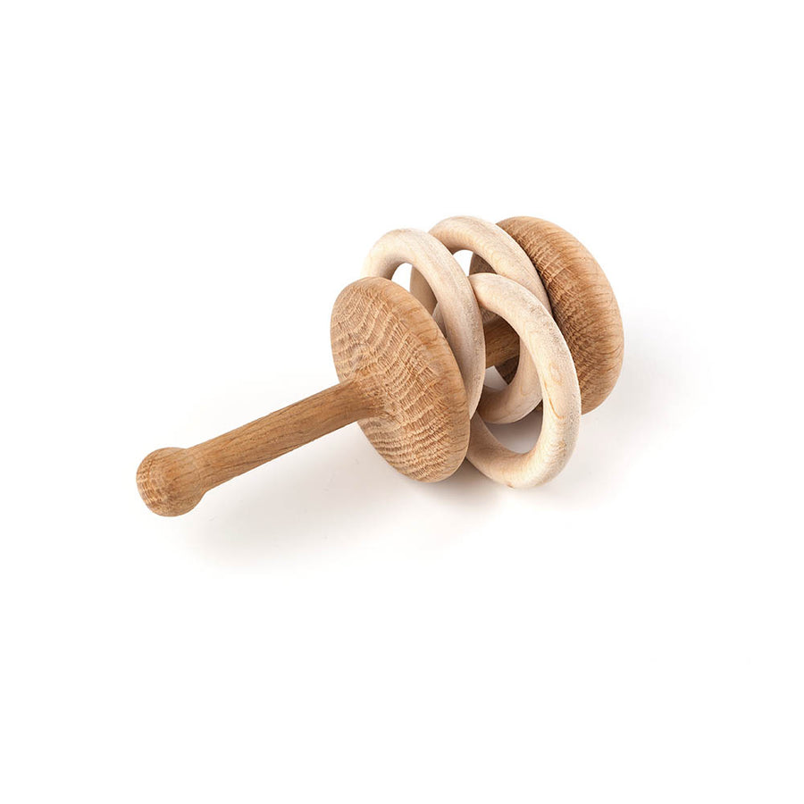 Lislis Toyslab - Wooden Rattles - Different Styles