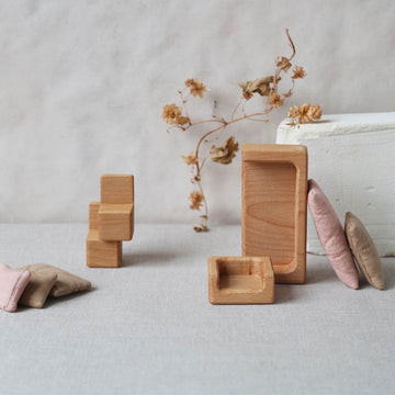 Stuül - Timeless toys - Set I - Wood - Handcrafted - Zoenvoorgust.com