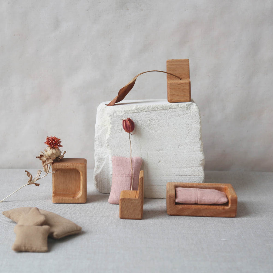 Stuül - Timeless toys - Set II - Wood - Handcrafted - Zoenvoorgust.com