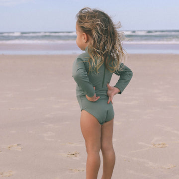 Long Sleeve Swimsuit - UPF 50+ Protection - Sustainable - More colors