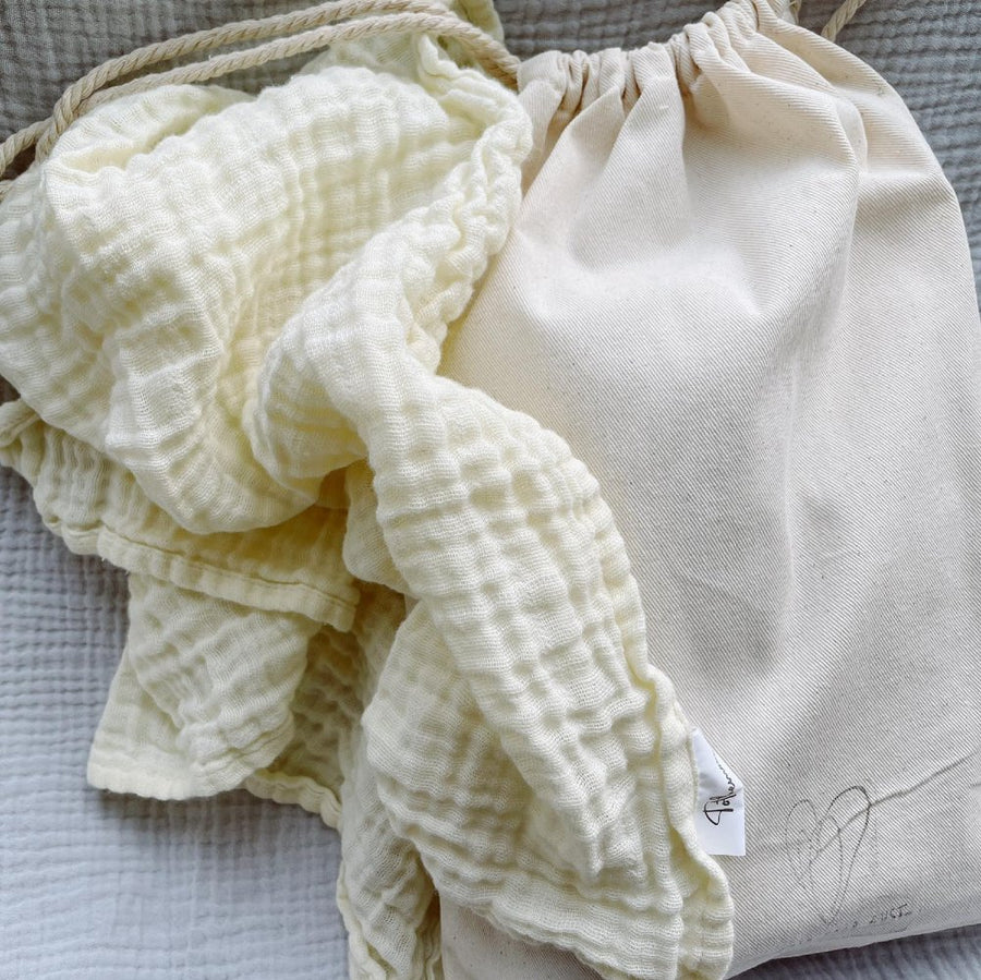 Tothemoon - Swaddles Set- 100% Cotton - Handmade - More colors