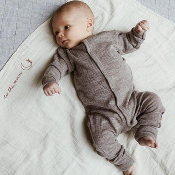 Sleep Suit - 100% wool - 2 in 1 Foot - More colors