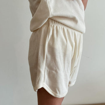 Shorts - Organic Cotton - Cream