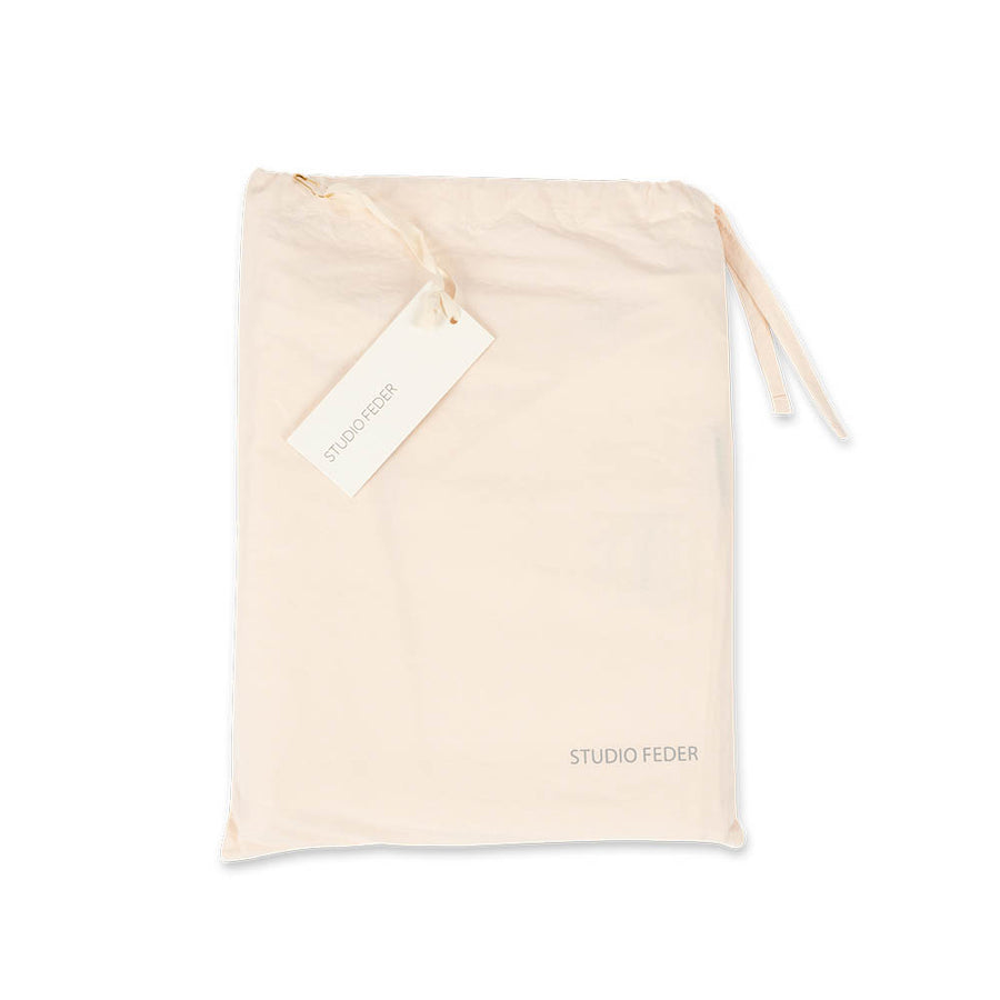 Studio Feder - Junior Bedding - Organic Cotton - Powder - Zoenvoorgust.com