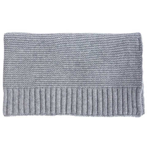 Repose AMS-blanket-light mixed grey-closeup