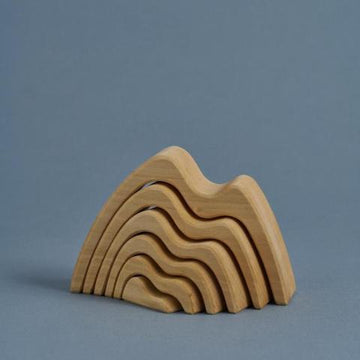 Raduga Grez - Stacking mountain natural - small