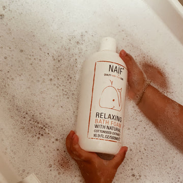 Naïf - Relaxing Bath Foam - Natural Ingredients