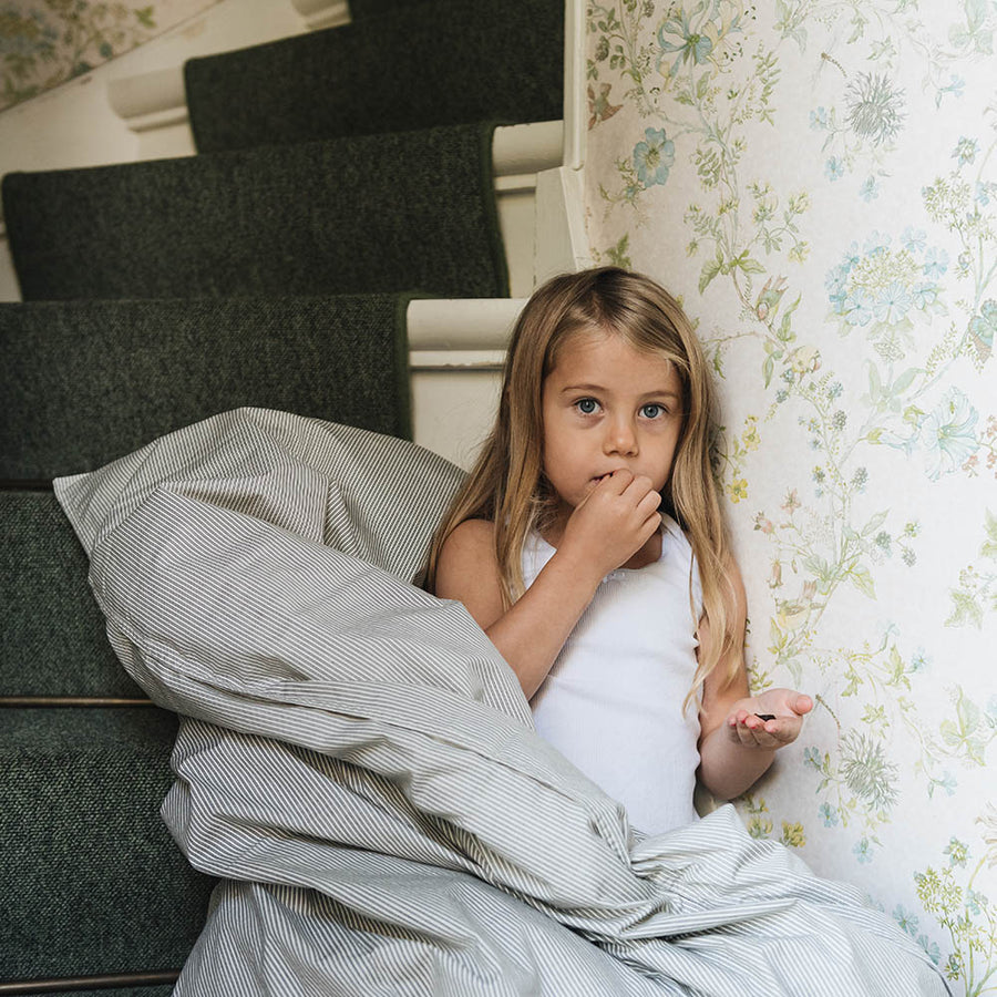 Studio Feder - Junior Bedding - Organic Cotton - Lua ash black - zoenvoorgust.com