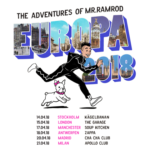 europa, 18, ramrod, ramriddlz, belgium, spain, london, manchester, uk, italy