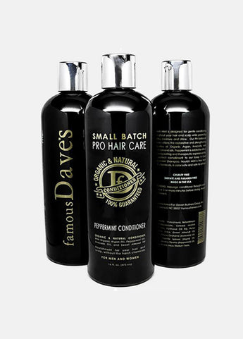 Famous Dave's Small Batch Conditioner Organic Peppermint