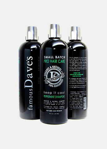 Small Batch Shampoo Organic Peppermint