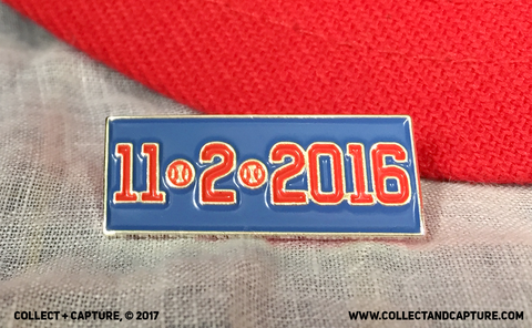 11/2/2016 Chicago Cubs Lapel Pin