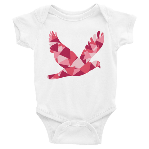 TrianGULL in Pink Baby Onesie - Collect + Capture