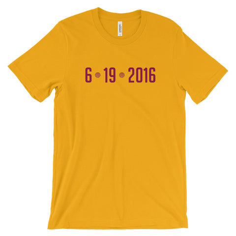 6/19/2016 Cleveland Cavs Tee - Gold - Collect + Capture