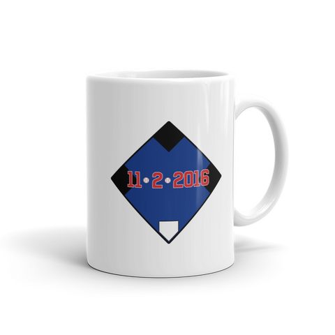 11/2/2016 Chicago Cubs Coffee Mug - Collect + Capture