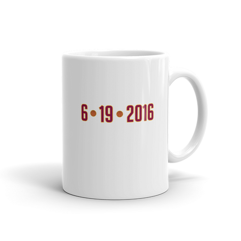 6/19/2016 Cleveland Cavs Mug - Collect + Capture