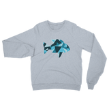 Angle FISH in Blue Adult Sweatshirt