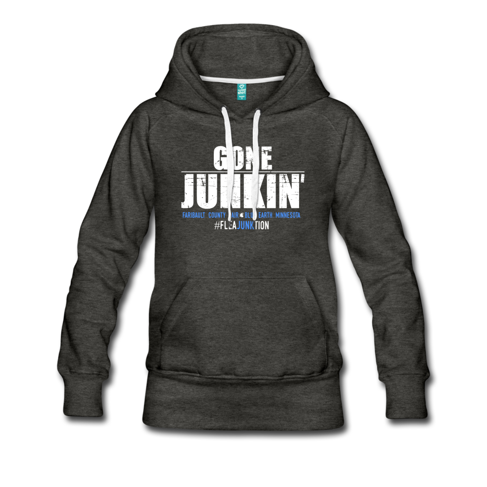 JUNKIN Sweatshirt Womens - charcoal gray