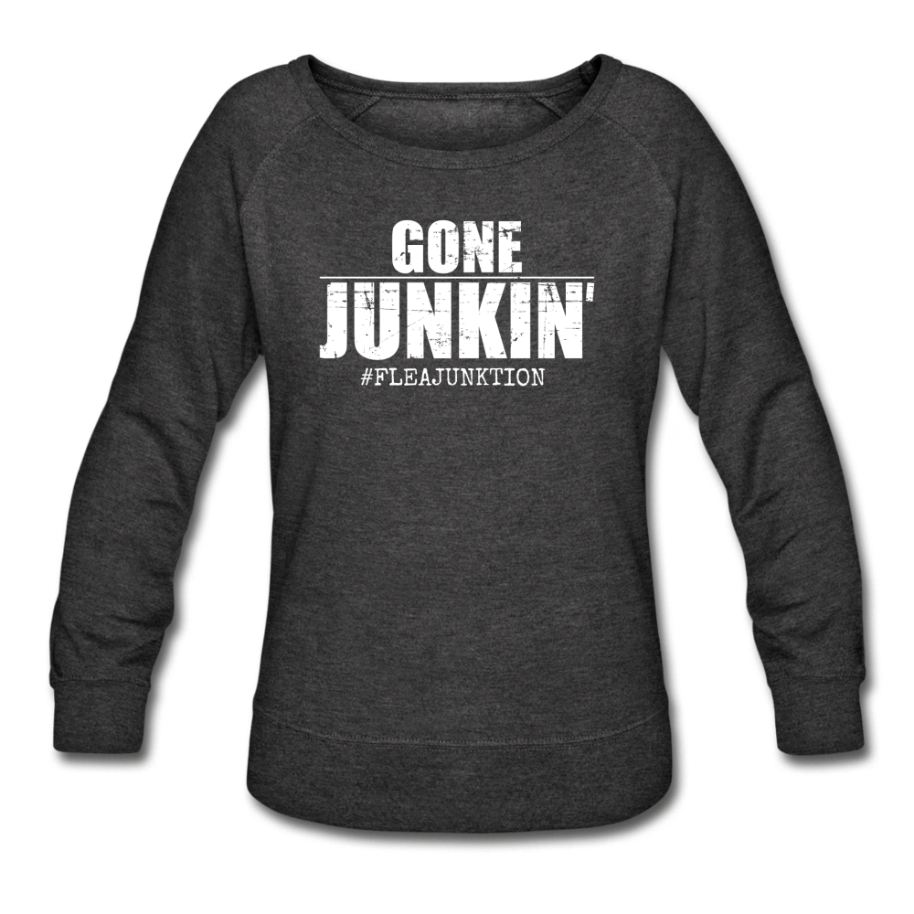 GONE JUNKIN' - heather black