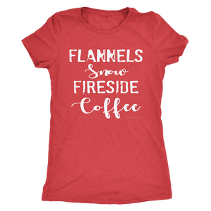 Flannels Snow Fireside Coffee