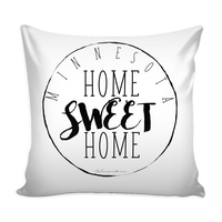 Minnesota Home Sweet Home Pillow Case
