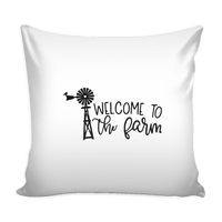 Welcome to the Farm Pillow case