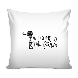 Open image in slideshow, Welcome to the Farm Pillow case
