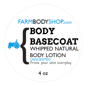 BODY BASECOAT- Whipped Body Lotion