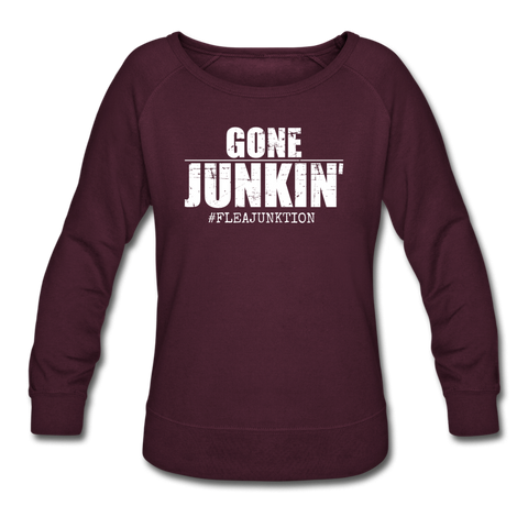 GONE JUNKIN' - plum