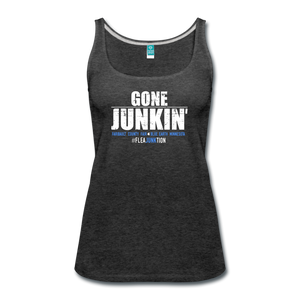 Womens JUNKIN Tank top - charcoal gray