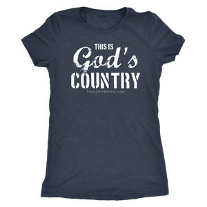 Open image in slideshow, This is God's Country ladies Tee