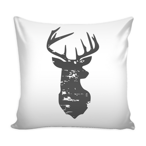White Buck Pillowcase
