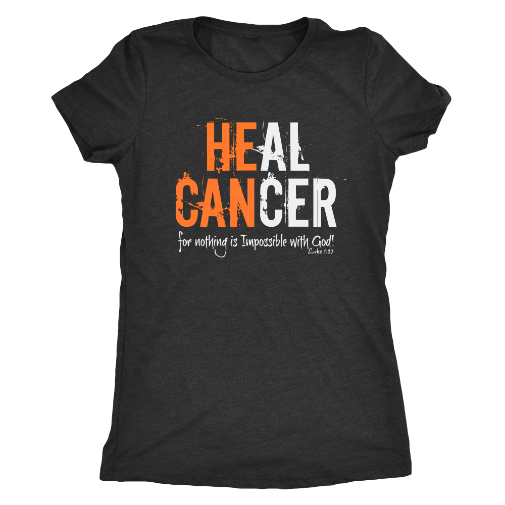 HEAL CANCER: Womens Tee
