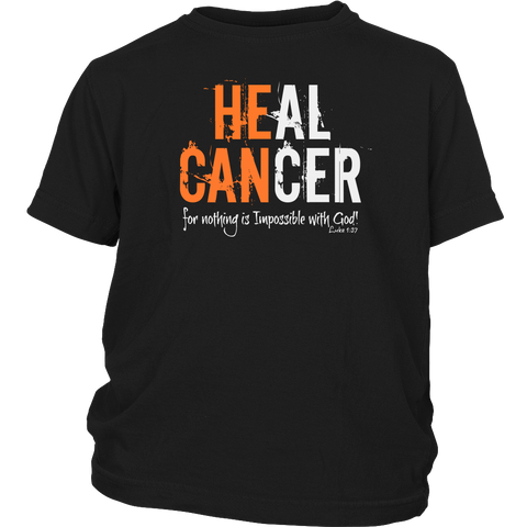 KIDS HEAL CANCER DISTRICT BRAND SHIRT