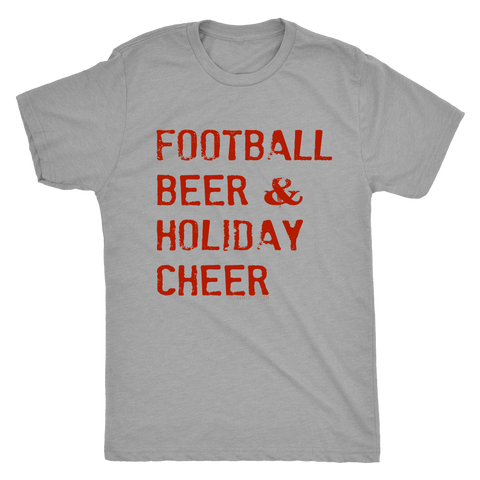Football Beer & Holiday Cheer