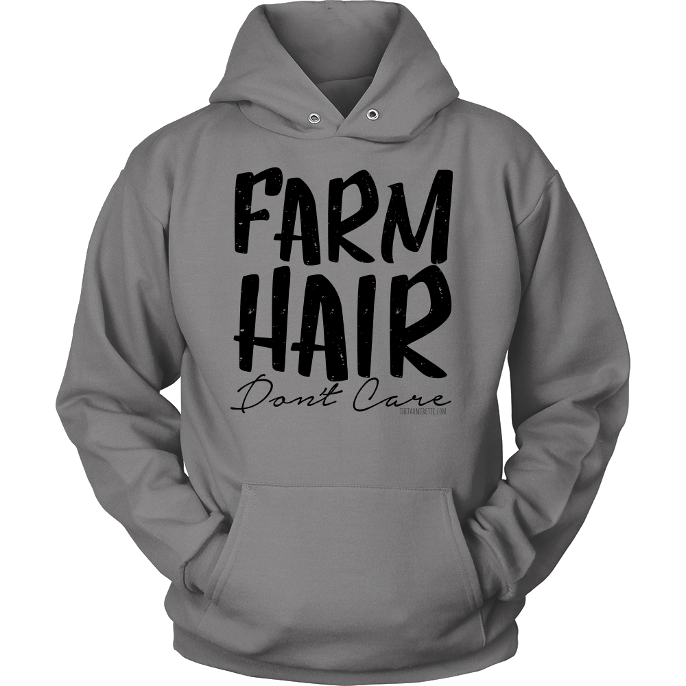 FARM HAIR DON'T CARE : Dark print