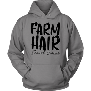 Open image in slideshow, FARM HAIR DON'T CARE : Dark print