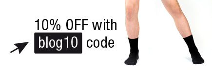 contemporary black socks for dancers