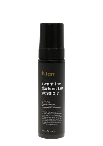 I want the darkest tan possible tan mousse