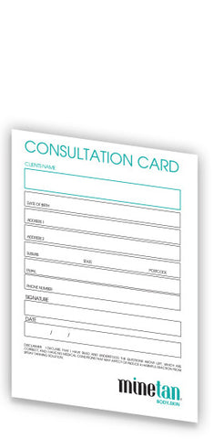 Consultation Cards - 50 Pack