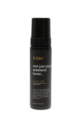 not just your weekend lover self tan mousse