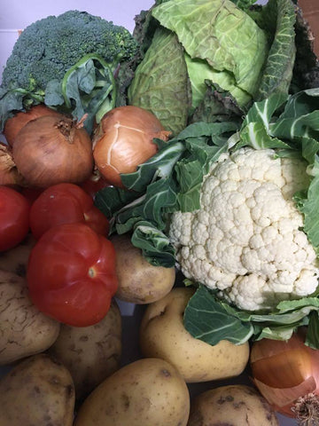 Veg and Fruit Box - Plenty veg for 2-3 People for 1 Week - LOCAL ONLY