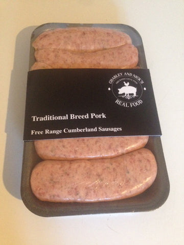 Free Range Traditional Sausages (approx 450g)