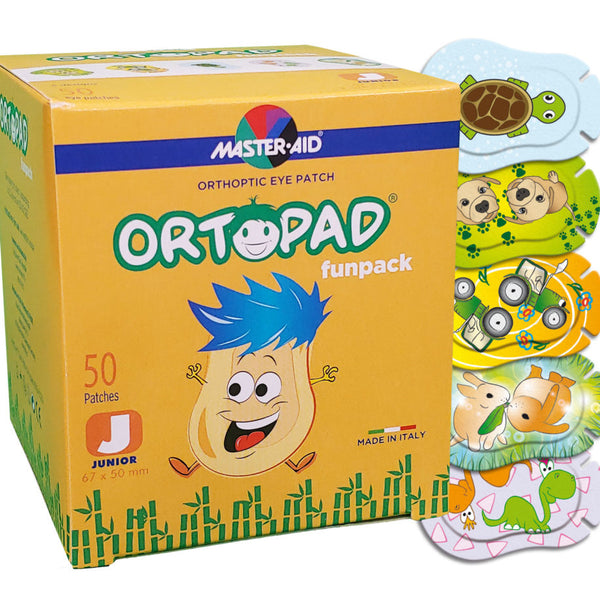 BUY 2 x ORTOPAD Soft Funpack & GET €5.00 OFF / FREE MOTIVATIONAL POSTER! (Junior Size Ages 0-2)