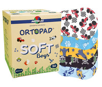 BUY 3 x ORTOPAD Soft Boys & GET €10.00 OFF / FREE MOTIVATIONAL POSTER! (Regular Size Ages 2+)