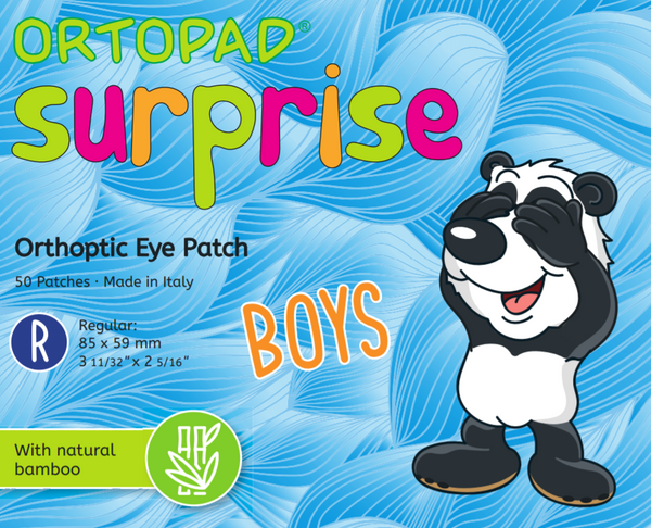 BUY 2 x ORTOPAD Surprise Boys & GET €5.00 OFF / FREE MOTIVATIONAL POSTER! (Regular Size Ages 2+)
