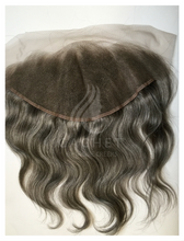 Cachet Remy Grey Hair Frontal 13 X 6