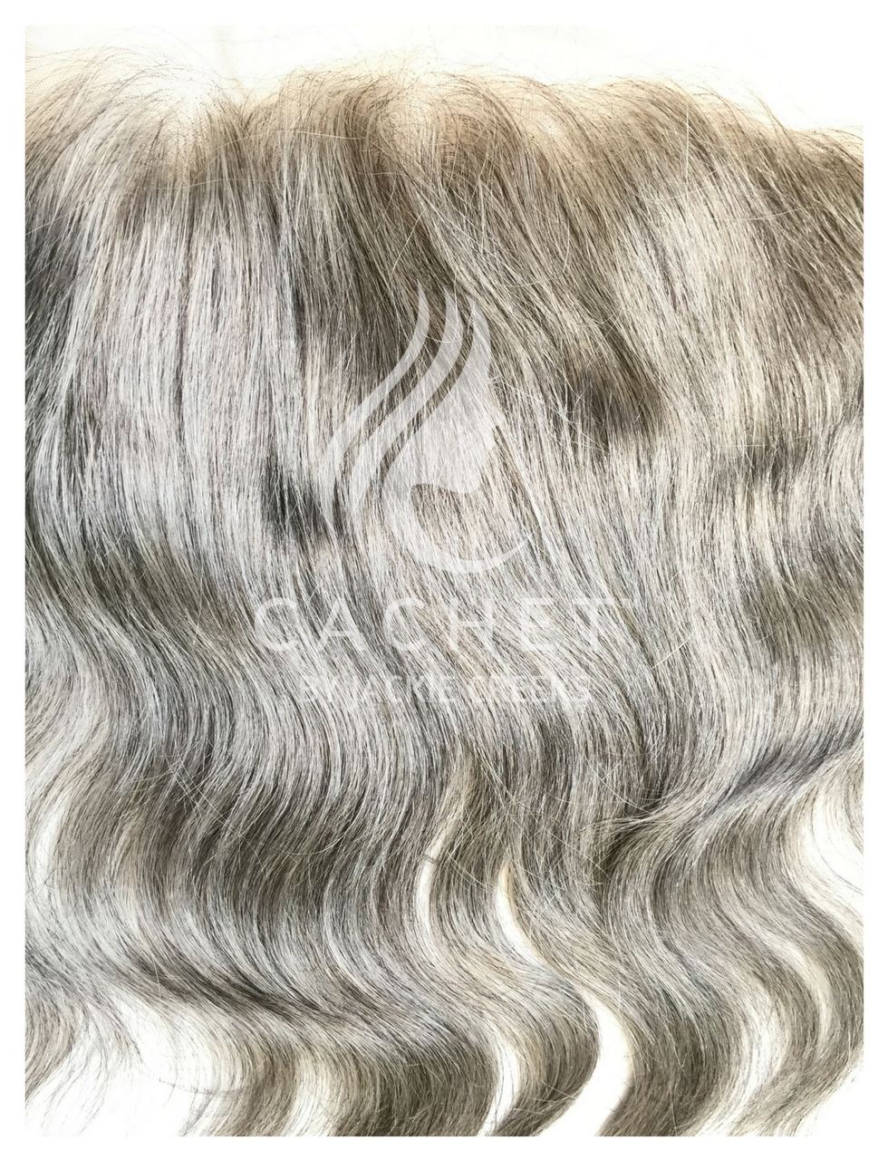 Cachet Remy Grey Hair Frontal 13 X 4