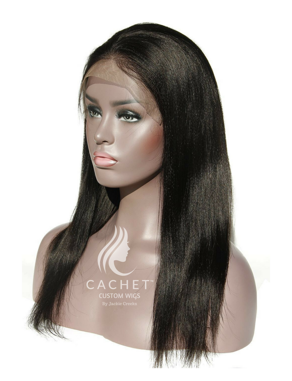 Authentic Light Kinky Lace Front Wig