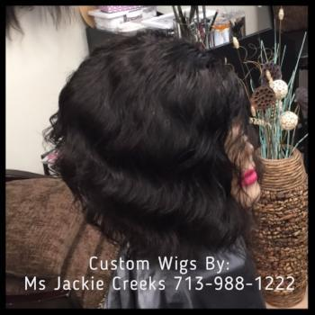 Authentic Custom Wig- Deep Wave - Healthy Hair Clinic